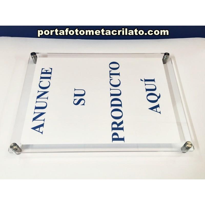 Expositor metacrilato a4 pared porta documentos displays metacrilato - Pared de metacrilato ...