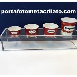 Expositor para tarrinas de helado